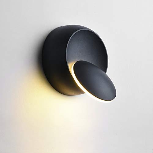 Modern Wandleuchte LED Wandlampe Kreative Eclipse Wandleuchte