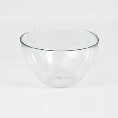 INNA Glas - Coupelle décorative / Coupelle apéritif en verre DORI, transparent, 9 cm, Ø 17 cm - Coupelle dessert / Coupelle pot pourri