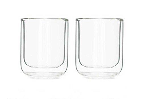 Viva Scandinavia 9102140 Set de 2 Tasses 18 cl, Verre, Transparent, 15,5 x 8 x 10 cm