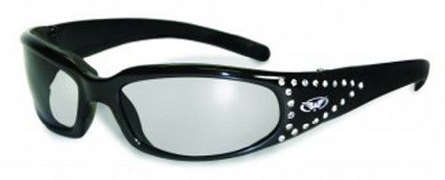 Global Vision Eyewear Marilyn 3CF 3FM Sonnenbrille mit Eva-Schaum, Clear Lens, 1Stück