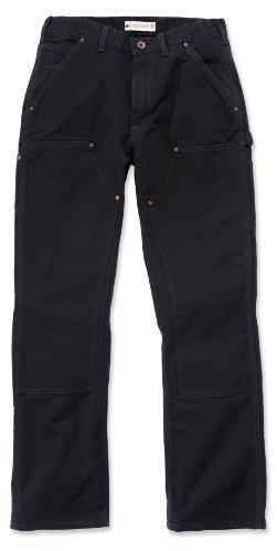 Carhartt EB136 Double Front Work Jeans schwarz schlanke B01 Herrenhose 36/36