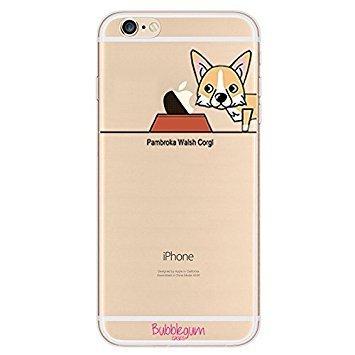 Bubblegum® for iPhone Models Dog Case Collection - TPU Protective Soft Gel Artistic Case Cover (iPhone 6 6s, Pembroke Welsh Corgi) ...