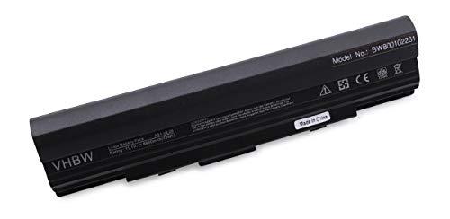 vhbw Batterie Li-ION 6600mAh Noire pour ASUS, remplace Les modèles A32-UL20, 9COAAS186459, UL2LA21, 90-NX62B2000Y, 07GO16EE1875M-00A20-949-114F