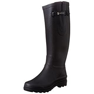 Aigle Women's Aiglentine Wellington Boots, Black, 6.5 UK