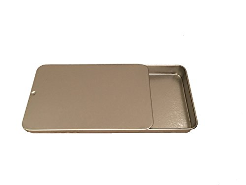 Under Glamour Metal Slide Top Tins, 4 L x 2.5 W x .5 H by Under Glamour