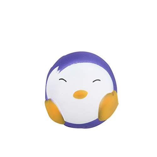 Gankmachine Matschig Langsam Rising Penguin Ball Spielzeug Temperatur Farbwechsel Kinder Erwachsene Anti-Stress-Spielzeug-Druck-Helfer Relief Gadget (Vorschul-stress-ball)