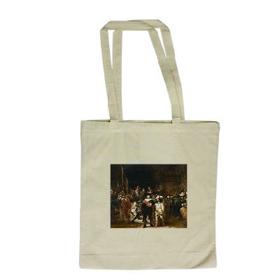 the-nightwatch-colour-litho-by-rembrandt-long-handled-shopping-bag