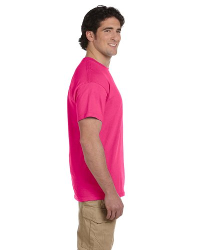 ... Fruit of the Loom T-Shirt Baumwolle, 3931 Rosa - Cyber Pink