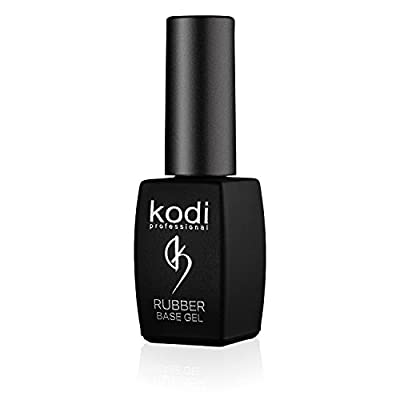 Professional Rubber Base Gel By Kodi | 8ml 0.27 oz | Soak Off, Polish Fingernails Coat Kit | For Long Lasting Nails Layer | Easy To Use, Non-Toxic & Scentless | Cure Under LED Or UV Lamp