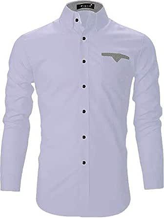 FINIVO FASHION Men's Casual Shirt