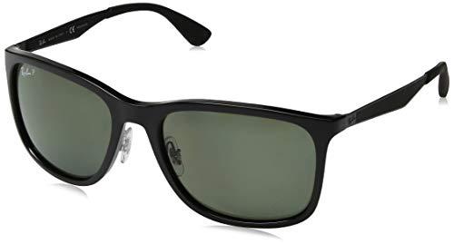 Ray-Ban Herren Sonnenbrille 0RB4313, Schwarz (Black), Gr. 58