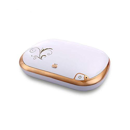 Tookne Tragbare antibakterielle UV-Sterilisationsbox UV-Sterilisator mit Entkeimungslampe für Schnuller, Mobiltelefon, Unterwäsche, Geschirr, Make-up-Pinsel, Zahnbürste,Gold (Zahnbürste Sanitizer Uv)