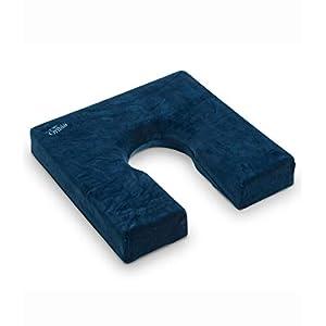 Cuscino antidecubito a ferro di cavallo con rivestimento impermeabile – 40x40x5 cm