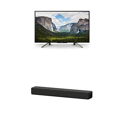 via 127 cm (50 Zoll) Fernseher (Full HD, HDR, Smart TV) Plus HT-SF200 2.1-Kanal kompakte TV Soundbar (Home Entertainment System, HDMI, Bluetooth, USB, Surround Sound) schwarz ()