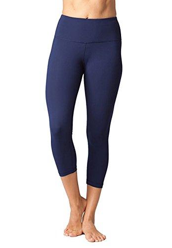 FIRM ABS Mädchen Tummy Control Schwarze High Waist Dry Fit Joga Regular Hosen (Control Hose)