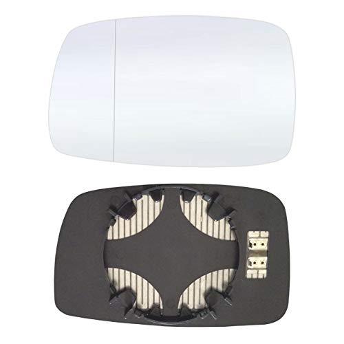 Preisvergleich Produktbild Links Fahrerseite Asphärish Spiegelglas mit Platte und Heizung AM-VNCO87-LWAH