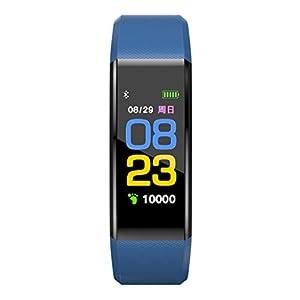 JAGETRADE Waterproof Sports Band Pedometer Monitors Bluetooth Smart Watch,Bracelet For IOS