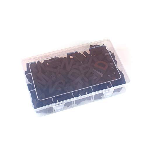 JK 124 piezas letras magnéticas para nevera