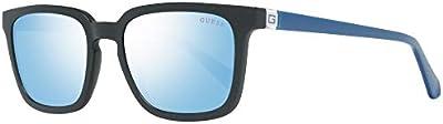 Guess GU6933 02X 52 Monturas de gafas, Negro (Negro OpacoBlu Specchiato), 52.0 Unisex Adulto