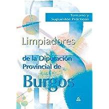 Limpiadores de la diputación provincial de burgos. Temario y supuestos prácticos