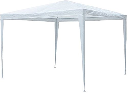 Maxx 3x 3m tendone gazebo da giardino tenda impermeabile birreria struttura in acciaio con aste in acciaio extra spesso camping spiaggia bianca