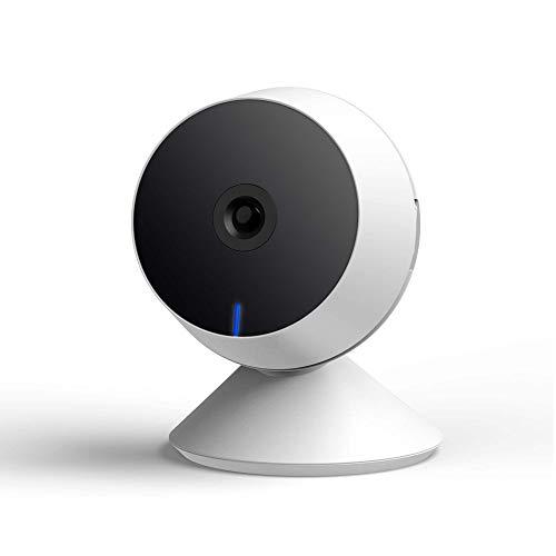 3 - Panamalar - Cámara de vigilancia HD inalámbrica, Control por Voz con Alexa Echo Show / 2 vías de conversación / visión Nocturna, etc., Monitor de Interior para bebés / Mascotas (Blanco)