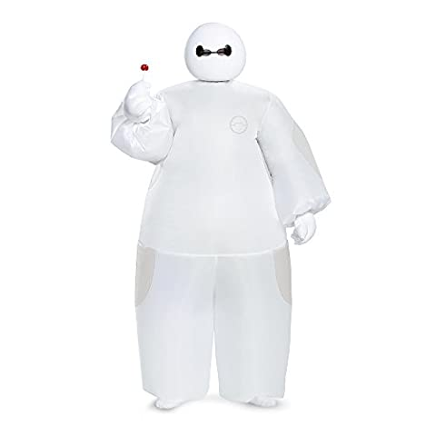 Disguise White Baymax Inflatable Costume, Child