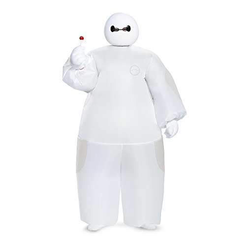 Big Hero 6 Weiß Baymax Inflatable Kind (Baymax Kostüm Kind)