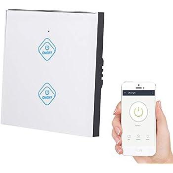 TELECOMANDO SmartHome 230v 433mhz Interruttore Ricevitore Wireless potenziale libero