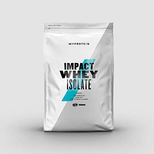 Myprotein Impact Whey Isolate Protein Unflavoured 1000 g