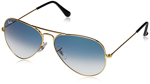 Ray-Ban Aviator Sunglasses (Gold) (RB3025 001/3F58)