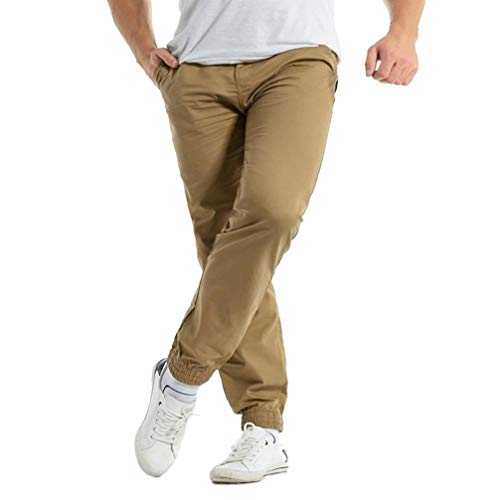 04a23b2d9c036 Hombre Pantalones Largo Casual Streetwear Otoño