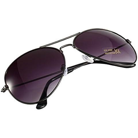 Rifle marco + Gris Lente Unisex Retro Vintage mujeres hombres gafas espejo lente gafas de sol gafas de fashion SG mundo ojo