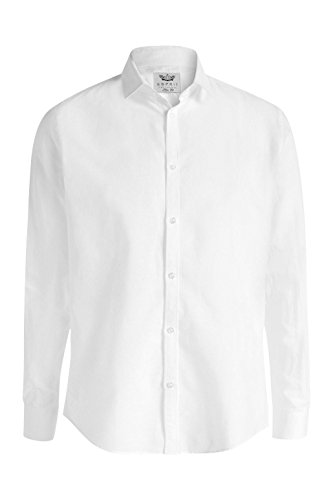 ESPRIT Collection Herren Businesshemd Weiß (White 100)