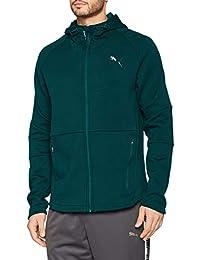 Puma Evostripe Move Hooded Jacket Sudadera, Hombre, Verde (Ponderosa Pine), S