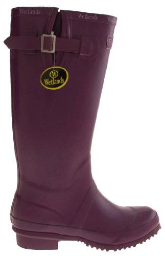 Footwear Studio , Bottes en caoutchouc femme Violet - violet