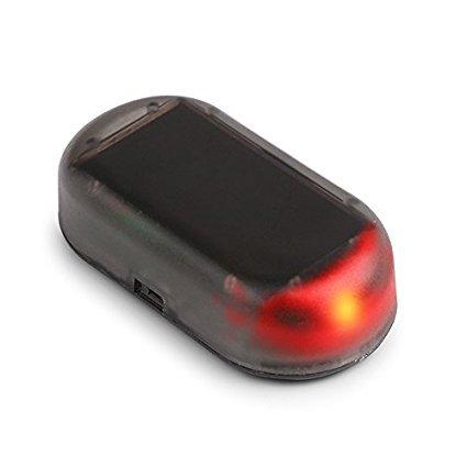 Preisvergleich Produktbild Auto Alarm LED-Licht,  powstro Solar Sicherheit Warnung Dummy System blinkende Lampe Motionperformance