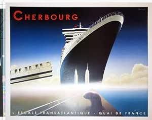 Editions Clouet 50755 Affiche Touristique 50x70 cm PLM Port de Marseille