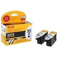 Kodak 10xl Ink Cartridge - Black (Pack of 2)