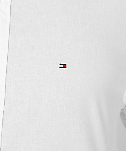 Tommy Hilfiger -  Camicia classiche  - Basic - Classico  - Uomo Bianco