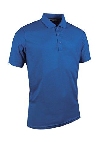 Glenmuir Herren gm077/msp7373Pique Polo Shirt blau