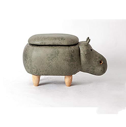 ZhiGe Stauraum,Ändern Sie Schuhe und Schuhe Speicherhocker Kleine Sofahocker aus massivem Holz