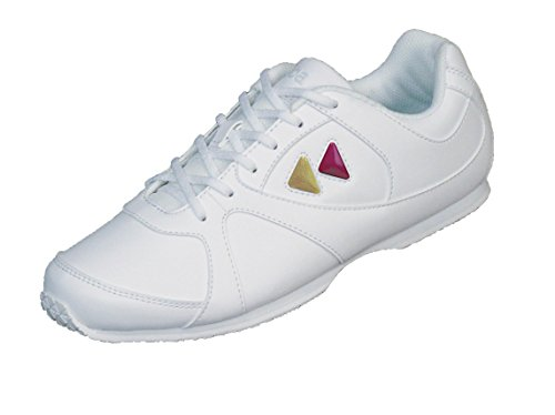(Kaepa Cheerful Damen Sneaker mit Color Change Snap In Logo, damen, weiß, EU 37 UK 4 US 6.5)