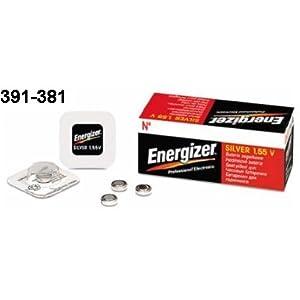 1 x Energizer 381-391 SR1120SW SR1120W 0% Silberoxid Uhrenbatterie Quecksilber