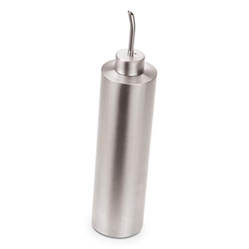 Ölflasche mit Ausgießer - Öl-Spender für Olivenöl 500ml - Edelstahl