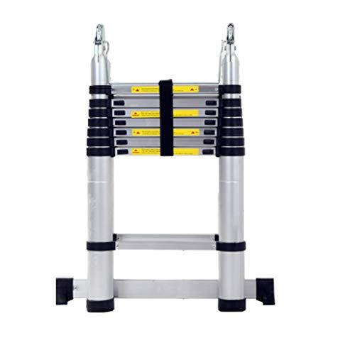 Multifunktions-Teleskopleiter Herringbone-Leiter Klappleiter Liftleiter Aluminiumlegierung Verdickung Technik Leiter V (größe : 2.2+2.2=4.4m)