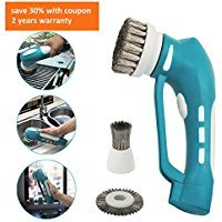 Cordless BBQ Grill Cleaning Wire Brush Power Scrubber