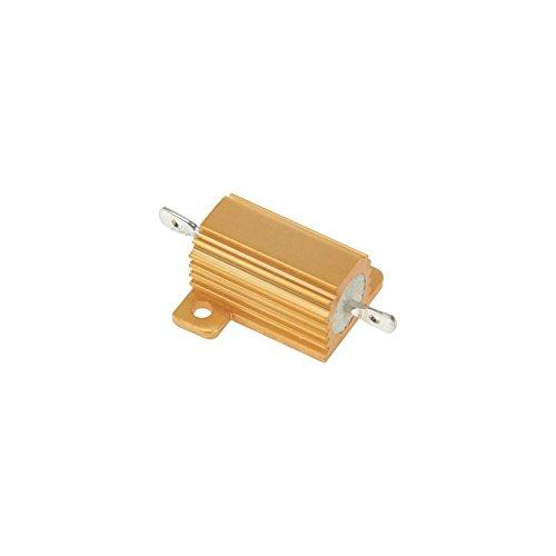 Perel 145581cavi per Test, Silicone, 1.0mm², Boccole assiale in PVC, lunghezza di 100cm, Rosso