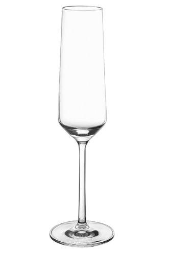 Schott Zwiesel 112415 Pure - Juego de 6 copas de champán, cristal, 20.9 cl, 72 mm de diámetro, 252 mm, transparente