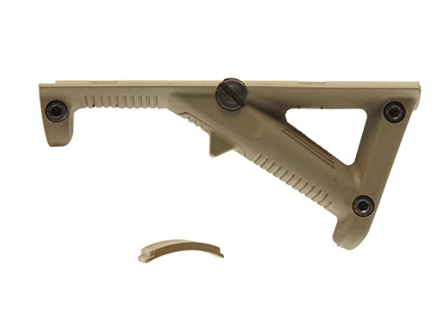 CYMA Angled Fore Grip / Foregrip - TAN, für Weaverschienen (20-23mm)